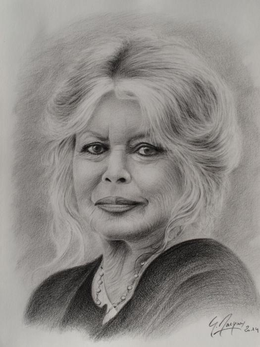Brigitte Bardot por magerar